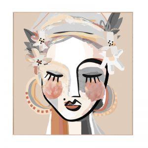 Lady Love | Framed Canvas Print