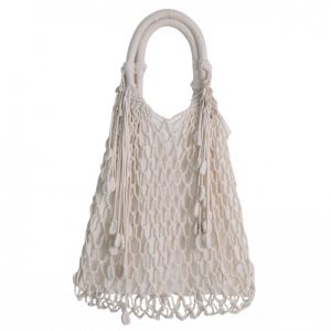 Lagoon Macrame Bag | Natural | Large