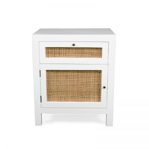 Laguna Bedside Table | White