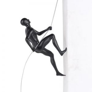Lama Climbing Man Sculpture | CLU Living