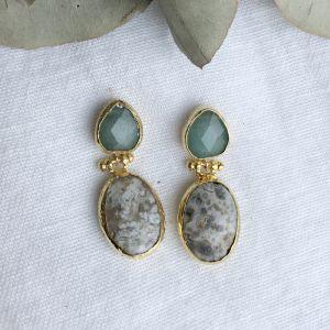 Lana Double Drop Hook Earrings