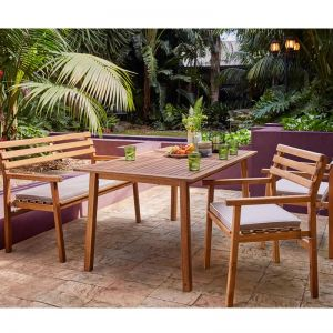 Lancashire 4 Seater Timber Dining Set