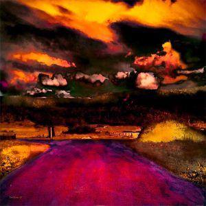 Land of the Never Never | Artwork for Lightbox | Various Sizes