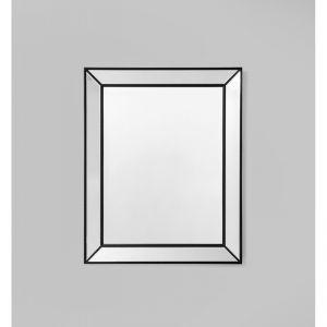 Large Beaded Mirror | Black | Schots