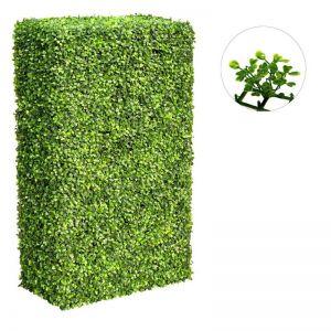 Large Portable Mixed Boxwood Hedge | UV Resistant | 1m x 2m