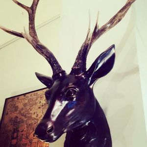 Large Wall Stag Head Polyresin | Wall Art