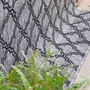 Lattice Seaspray Rug | Silver - PREORDER for Early March 2021
