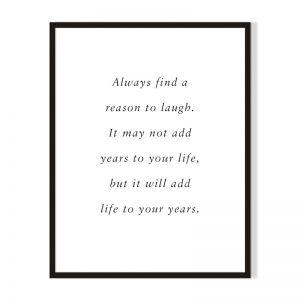 Laugh | Framed Print | Artefocus