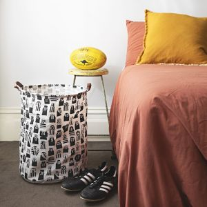 Laundry Hamper | Vintage Football Jumpers | Canvas