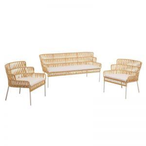 Laura Mustard Armchairs & Sofa | Mustard|