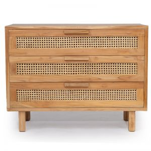 Lauren Chest Of Drawers   Natural   100cm