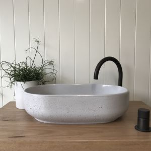 Lauren Pill Basin by DLH Designs | Mist