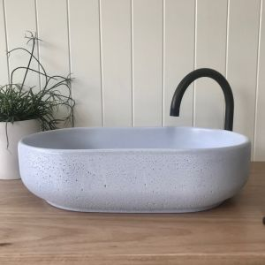 Lauren Pill Basin by DLH Designs | Sky