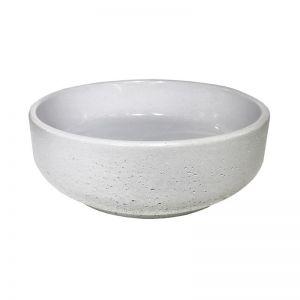 Lauren Round Basin by DLH Designs   Mist