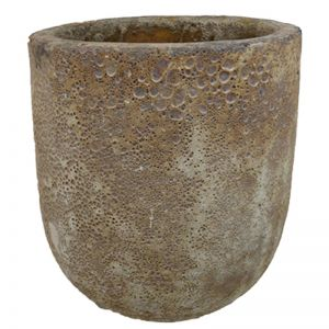 Lava Rock Jam Pot | Brown