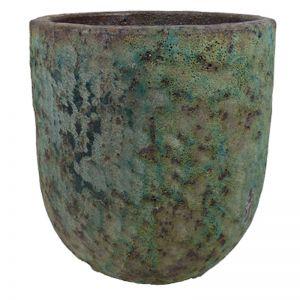 Lava Rock Jam Pot | Green