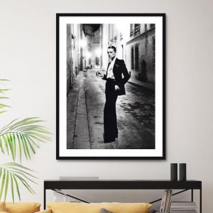 Le Smoking by Helmut Newton | Unframed Art Print
