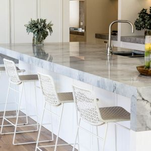 Leah Kitchen and Bar Stool | White by SATARA