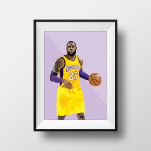 Lebron 23 | Art Print | Framed and Unframed