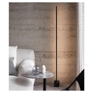 LEDlux Emmerson LED Dimmable Black Floor Lamp