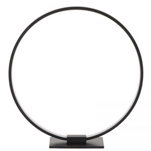 LEDlux Meridian LED Dimmable Black Table Lamp in Warm White