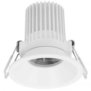 LEDlux Transition Duel Fixed Downlight in White | Beacon Lighting
