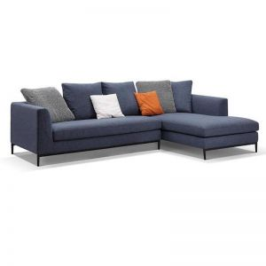 Leland 3 Seater with Right Chaise | Blue