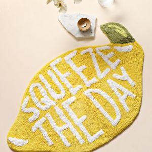 Lemon Bath Mat | Squeeze The Day