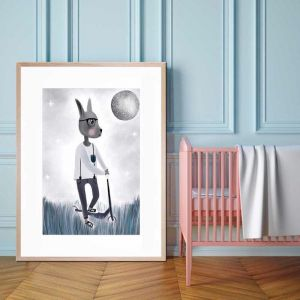 Leo | Framed Print By United Interiors