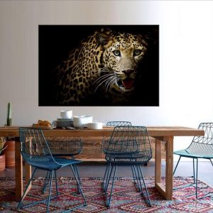Leopard   Canvas Print by Tusk Gallery