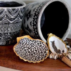 Leopard Pattern | Small Scallop | by Seashells & Co.