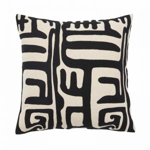 Lesotho Embroidered Cushion | by Weave Home