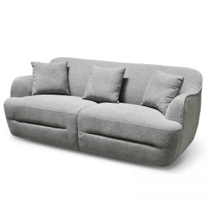 Lester 3 Seater Sofa | Grey | Interior Secrets