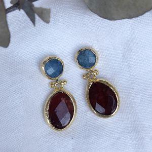 Letha Double Drop Earrings