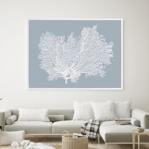 Light Blue | Shadow Frame Wall Art