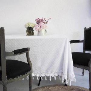 Like A Diamond Tablecloth