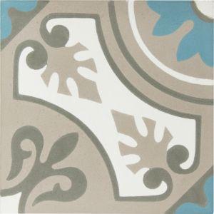 Lille Encaustic Tile | Slate | Schots
