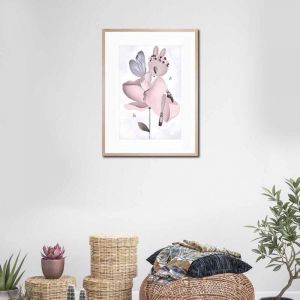 Lily | Framed Print By United Interiors