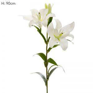 Lily | Real Touch | White