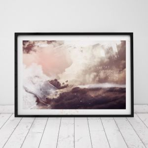 Limitless | Sunset Art Print | Donna Delaney Prints x Secret Weapon Creative