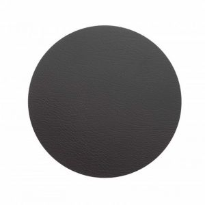 LINDDNA XL Circle Table Mat | Black