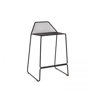 Linear Stool 65cm | Black