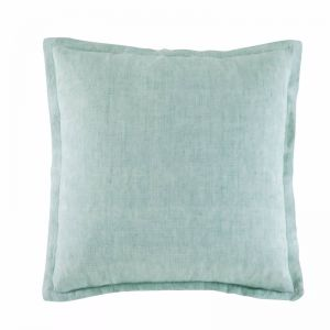 Linen Cushion by Kas Australia | Mint