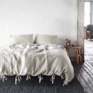 Linen Duvet   Queen Size   Natural - Preorder