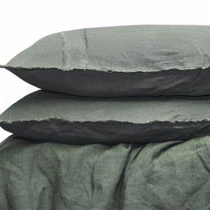 Linen Duvet Set | Queen Size | Khaki