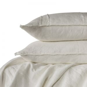 Linen Duvet Set | Queen Size | White