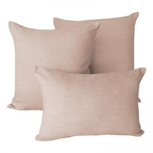 Linen Flax | Sunbrella Fade and Water Resistant Outdoor Cushion | Outdoor Interiors