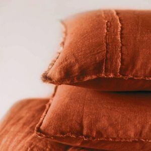 Linen Pillowcases |Tobacco