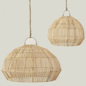 Linnea Open Rattan Light Shade l Pre Order