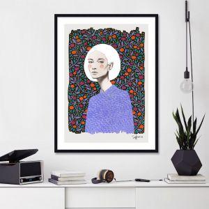 Lisa by Sofia Bonafti | Unframed Art Print